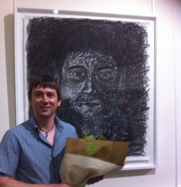 Lee Wise Self Portrait, Adelaide Perry Drawing Prize